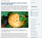 Thumbnail image of Blog Post: American History Told Through Squash resource