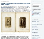 Thumbnail image of Blog Post: Civil War Portraits resource