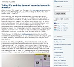 Thumbnail image of Blog Post: Thrilled R's and the Dawn of Recorded Sound in America resource