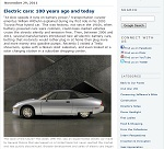 Thumbnail image of Blog Post: Electric Cars: 100 Years Ago and Today resource