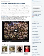 Thumbnail image of Blog Post: Collecting the Presidential Campaigns resource