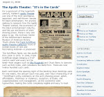 Thumbnail image of Blog Post: The Apollo Theater resource