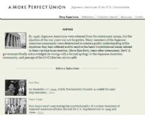 Thumbnail image of Japanese Americans and the U.S. Constitution: Justice resoruce