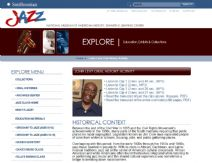 Thumbnail image of Oral History Activity with Jazz Great John Levy resource