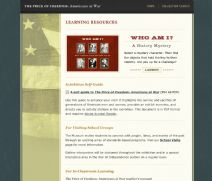 Thumbnail image of Americans at War Learning Resources