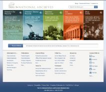 Thumbnail image of National Archives and Records Administration resource