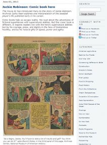 Thumbnail image of Blog Post: Jackie Robinson: Comic Book Hero resource