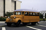 Orange Carpenter-Dodge school bus