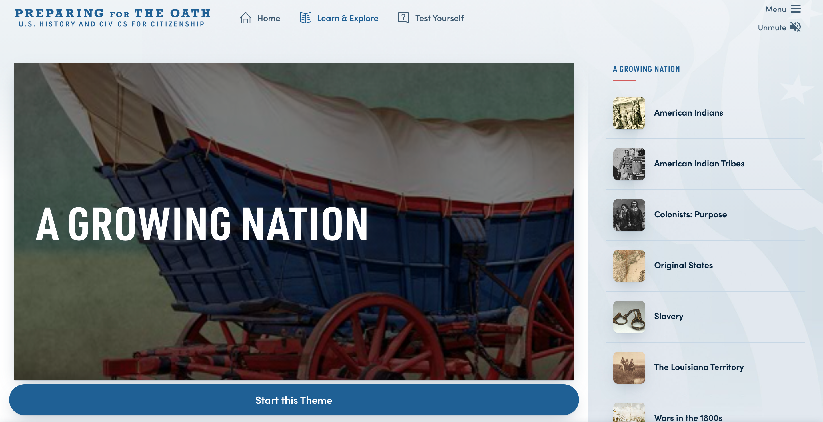 Thumbnail image of Preparing for the Oath: A Growing Nation resource