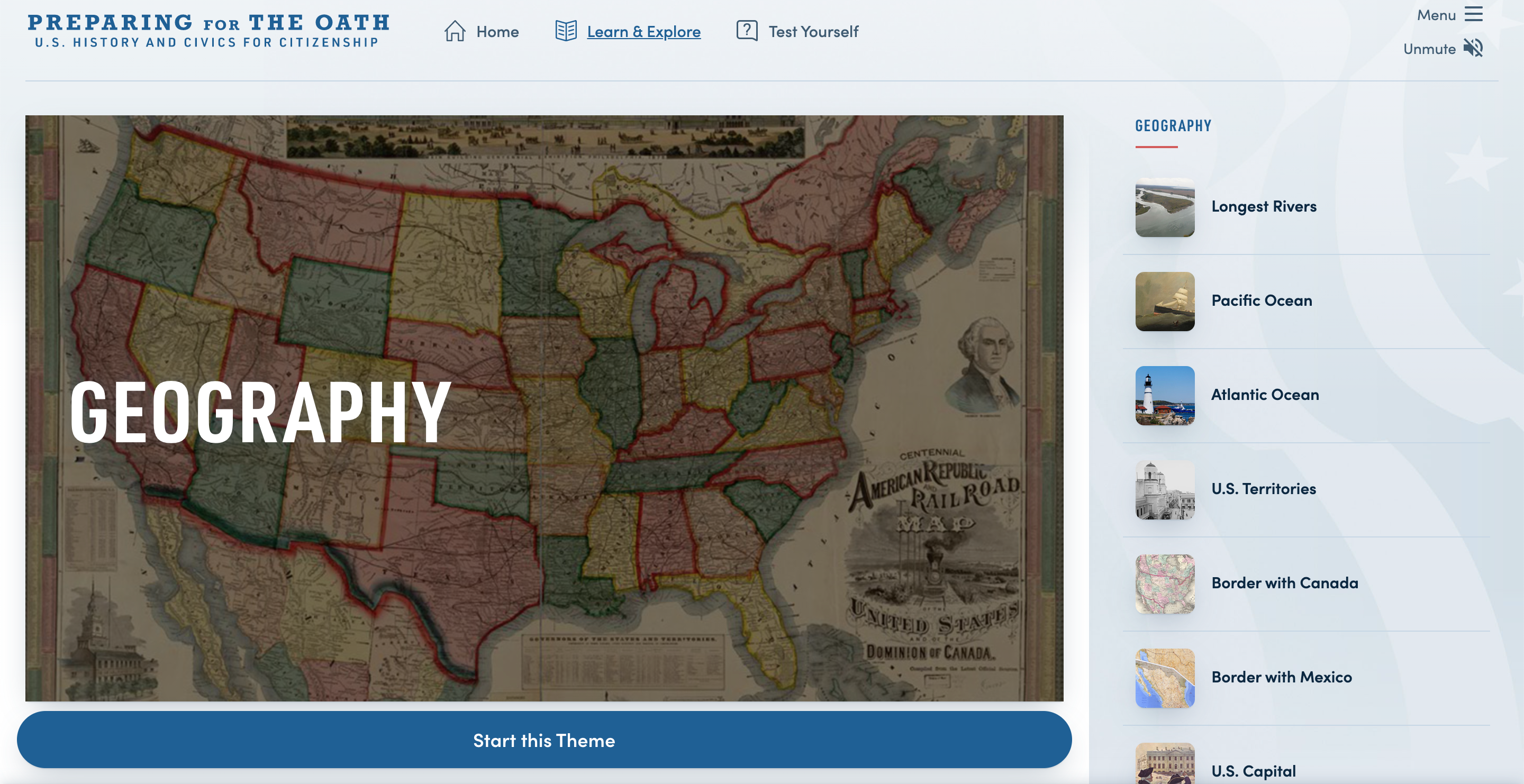 Thumbnail image of Preparing for the Oath: Geography resource