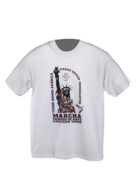 Todos Somos América, Todos Somos Inmigrantes T-shirt, 2006