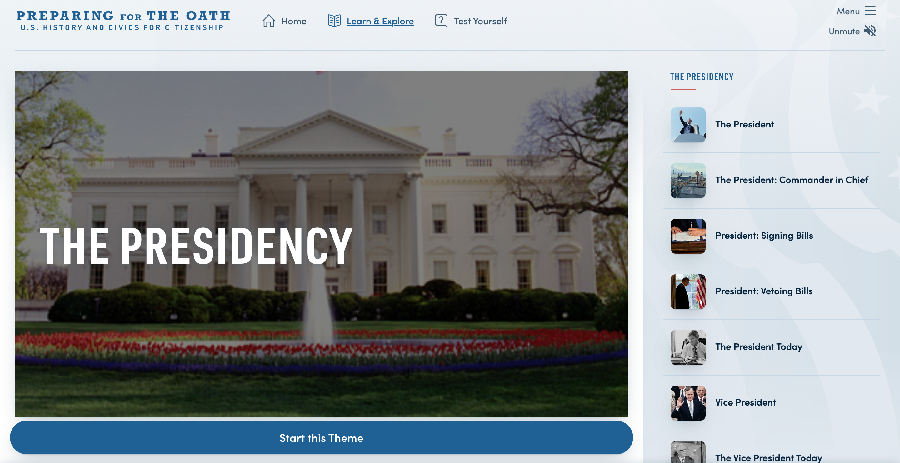 Thumbnail image of Preparing for the Oath: Presidency resource