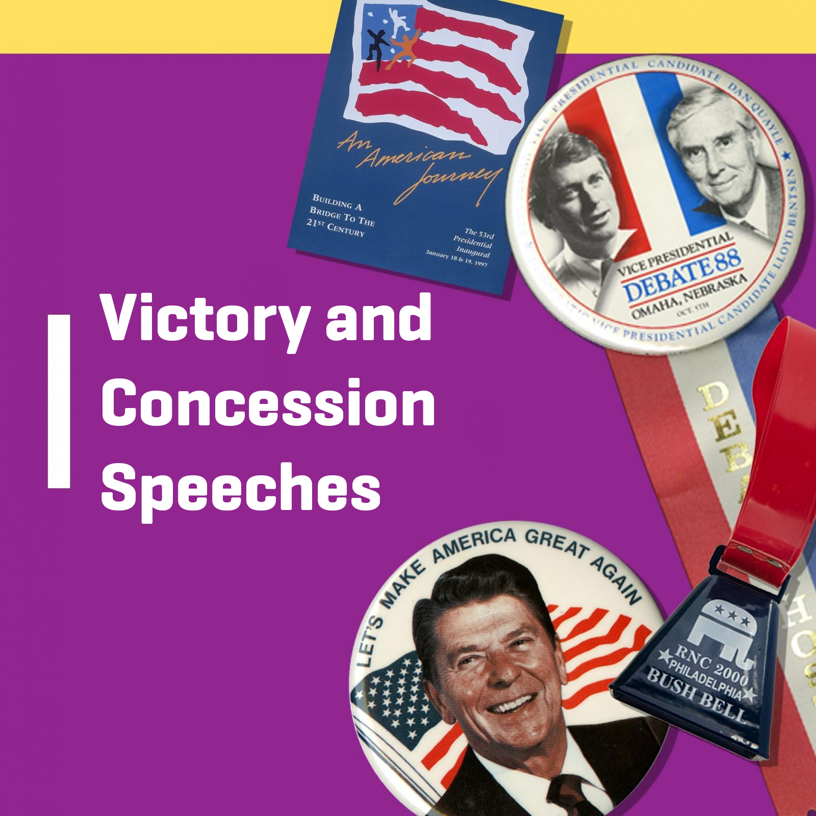 Victory and Concession Speeches graphic