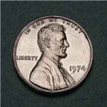 Aluminium United States penny