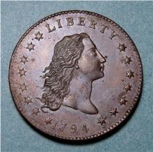 Copper U.S. Pattern dollar