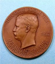 1905 Roosevelt inaugural medal