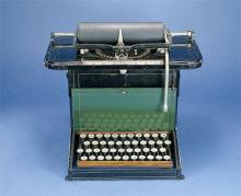 Remington typewriter made of iron
