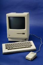 White Apple personal computer