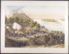 Colored image of the Siege of Vicksburg
