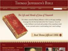 Thumbnail image of Thomas Jefferson's Bible: The Life and Morals of Jesus of Nazareth resource