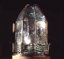 Glass Fresnel Lighthouse lens