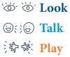 Look Talk Play logo